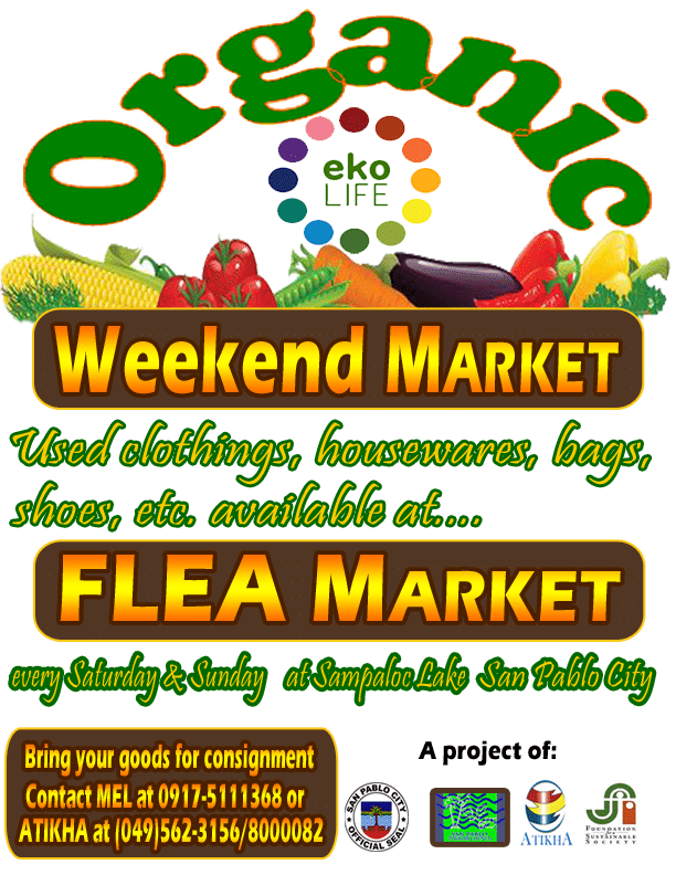 Organic Weekend Market and Flea Market - Every Saturday and Sunday
