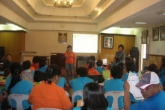 Financial Literacy & Addressing Barriers to Reintegration for OFW & their Families, Biñan, Laguna (August 11 - 12, 2010)
