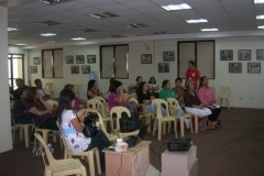 Financial Literacy Echo Seminar in Binan (Bacoor and Laguna Trainers ) March 16, 2011