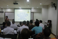 Financial Literacy Seminar for Seafarers and their Families (May 25 - 26, 2011)