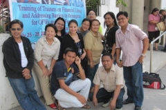 Trainer\'s Training on Financial Literacy, Tierra Montana Hotel, General Santos City (July 25 - 29, 2011)